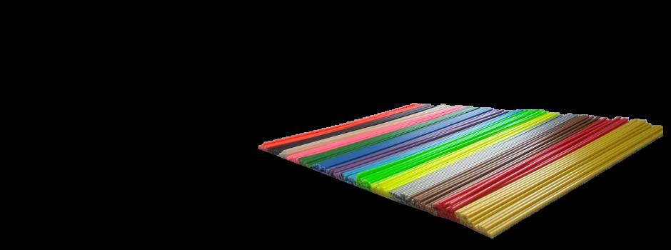 Cargas de Plásticos con colores planos